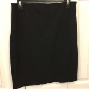 Philosophy size 6 black and navy elastic skirts